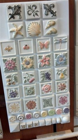 Hand painted Nature Board - Tile