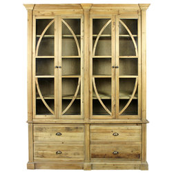 Traditional Bookcases by Moti