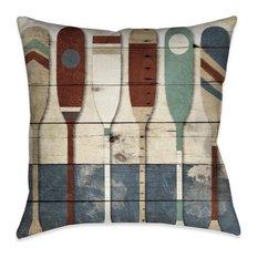 Playful Oars Indoor Decorative Pillow