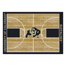 "Colorado College Home Court 10'9""x13'2"" Area Rug"