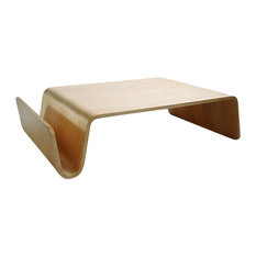Offi   Low Bent Wood Coffee Table, Modern Scando Table, Birch   Coffee  Tables
