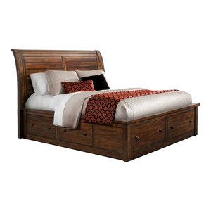 Danner Queen, Bed Storage, King