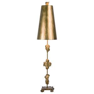 Fragment Table Lamp, Gold