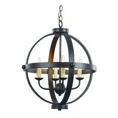 70594 ROB 4 Light Pendant - AdjustableSphere Collection