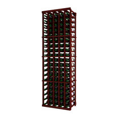 Ferrand Wine Rack, Redwood and Mahogany