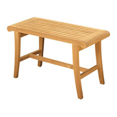 Teak Outdoor Occassional Bench