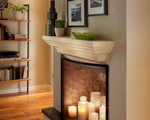 The Martino Mantel Shelf - Fireplace Mantels