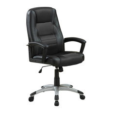 Coaster Fine Furniture   Coaster Decorative Black Office Chair   Office  Chairs