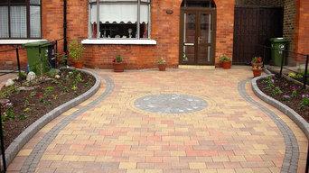 paving driveway in crumlin dublin 12
