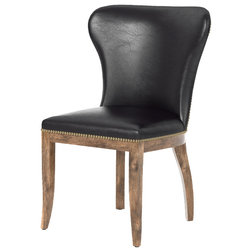 Transitional Dining Chairs by The Khazana Home Austin Furniture Store