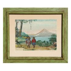 M. Neves, Atitlan, Guatemala, Watercolor