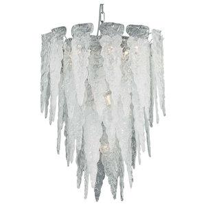 Stalattite Murano 7-Light Glass Chandelier