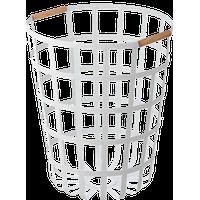 Tosca Round Laundry Basket White