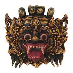Bali Barong Wood Mask, Indonesia