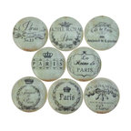 Vintage Sea Life Cabinet Knobs, 8-Piece Set - Beach Style - Cabinet And Drawer Knobs - by ...