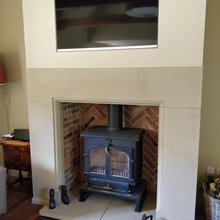 TV over fire solution