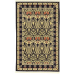 """Unique Loom - Unique Loom Carnation Edinburgh Area Rug, Black, 3'3""""x5'3"""" - The classic look of the Edinburgh Collection is sure to lend a dignified atmosphere to your home. With an array of colors and patterns to choose from, there�s a rug to suit almost any taste in this collection. This Edinburgh rug will tie your home�s decor together with class and amazing style."""