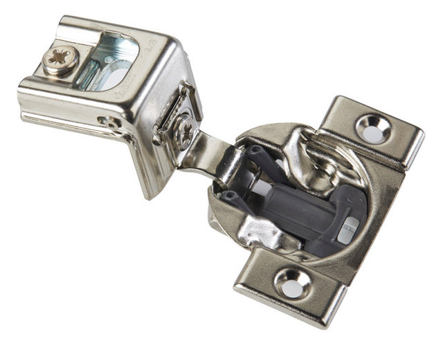 """110 Degree Compact 39C Blumotion 1-3/8"""" Overlay Screw-On Soft Close Hinge - Contemporary ..."""