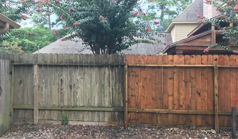 What 30 mins of power washing can do for your fence!