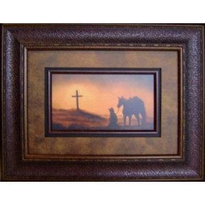 e5d31966e4bc Large Aged Framed Texas Flag - Rustic - Wall Decor - by Burleson ...