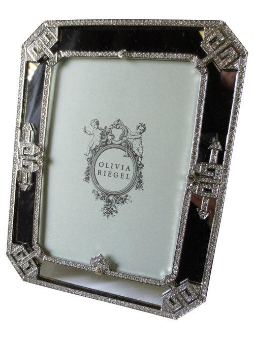Olivia Riegel   Olivia Riegel Deco Mirror Frame Swarovski Crystal 5