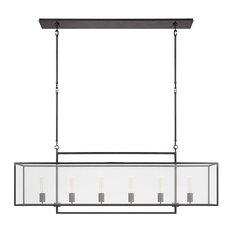 Visual Comfort Lighting Ian K. Fowler Halle Large Linear Pendant