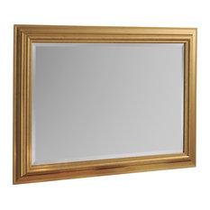 Barbara Wall Mirror, Gold, 74x102 cm