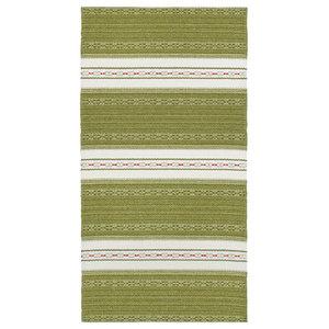 Astor Vinyl Floor Cloth, Olive, 150x240 cm