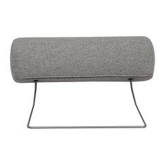 Cleveland Neck Pillow, Light Grey