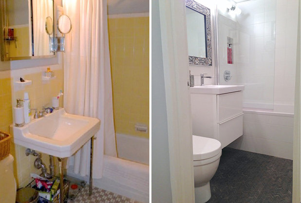 Fabulous Before After Bathroom