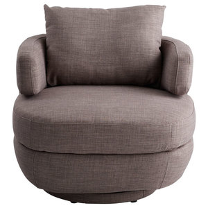 Elizabeth Swivel Chair Transitional Armchairs And