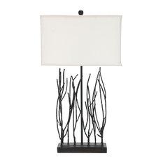 Safavieh   Safavieh Grayson 30.5 Inch High Twig Lamp   Table Lamps
