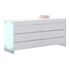 casabianca home il vetro collection dresser by casabianca home dressers casabianca furniture dolce collection lacquer dresser white