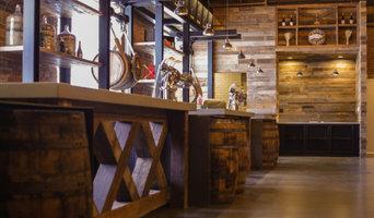 Rustic Modern Bar