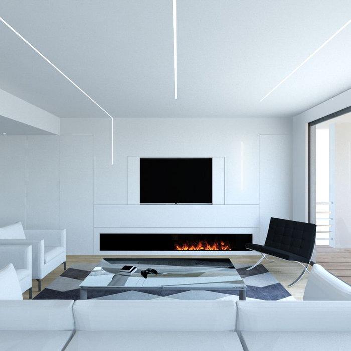 Example of a minimalist home design design in Catania-Palermo