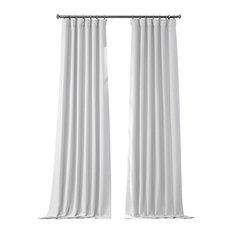 "Swiss Coffee Bellino Blackout Curtain Single Panel, 50""x96"""