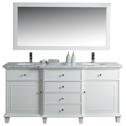 Transitional Bathroom Vanities And Sink Consoles by Stufurhome