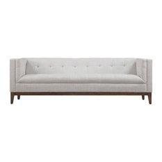 MOD - Erlich Linen Sofa, Beige - Sofas