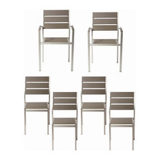 Roy 6-Piece Dining Chairs Gray