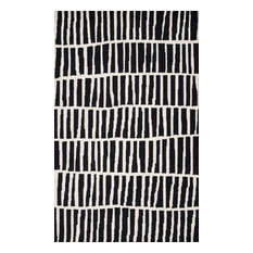 "Irregular Parallel Bars, Black, 8'6""x11'6"""