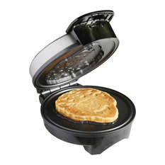 UNCANNY BRANDS - Uncanny Brands Bob Ross Waffle Maker, Bob's Iconic Face on Your Waffles - Waffle Makers