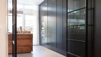 Pivoting Timber Framed Internal Doors - ENVO Systemsin