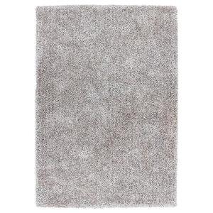 Tanzania Sansibar Rug, Silver and White, 160x230 cm