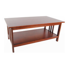 Bolton Furniture, Inc.   Mission Coffee Table, Cherry   Coffee Tables