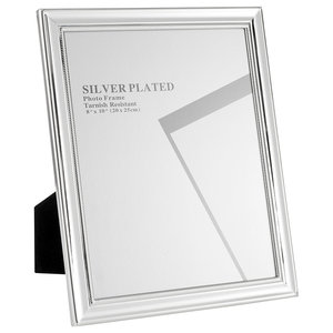 Silver Plated Picture Frames, 20x25 cm