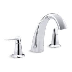 Kohler Alteo Bath Faucet Trim, Valve Not Included, Polished Chrome