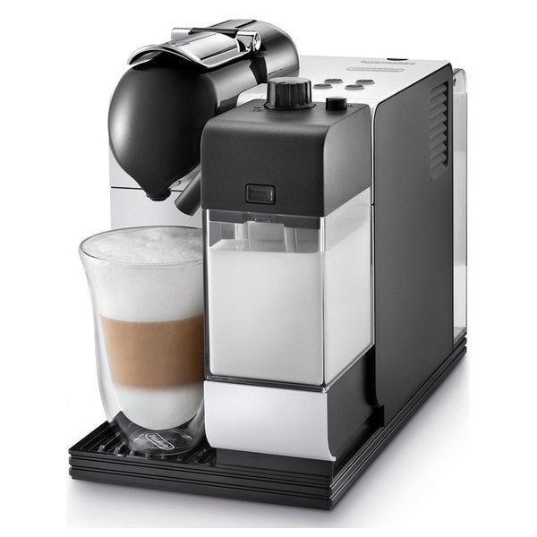 Nespresso Lattissima Capsule Espresso/Cappuccino Machine, White