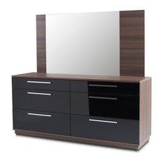 Napoli 6-Drawer Dresser And Mirror