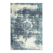 """Buy Area Rugs Nakra Owtc Rug, Blue, 7'10""""x11'2"""""""
