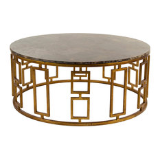 eclectic stone-top coffee tables | houzz